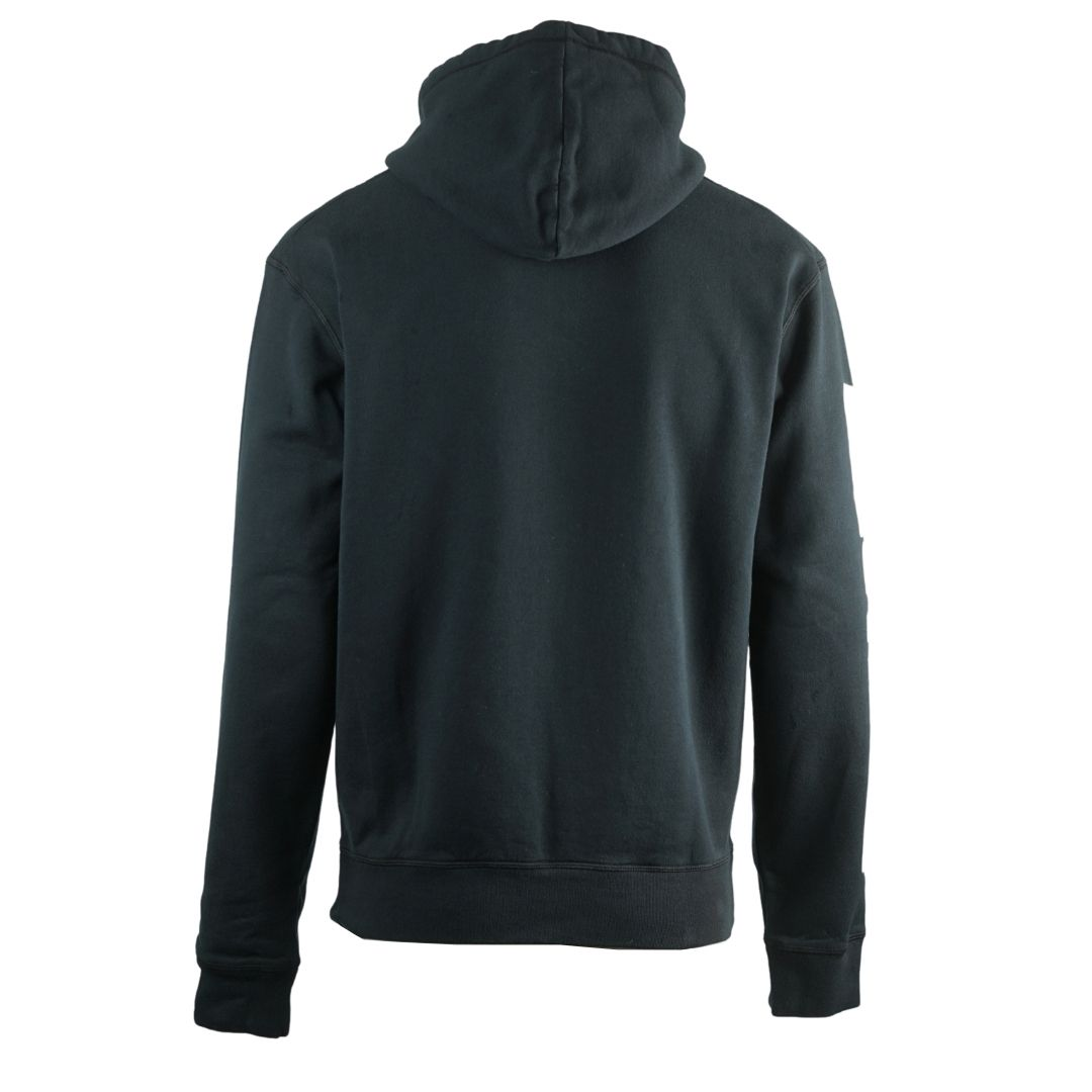 Dsquared2 New Dan Fit Arm Logo Black Hoodie
