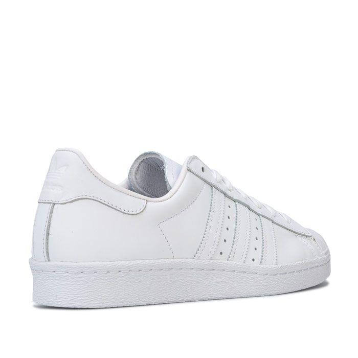 adidas Originals Superstar 80s Trainers in White