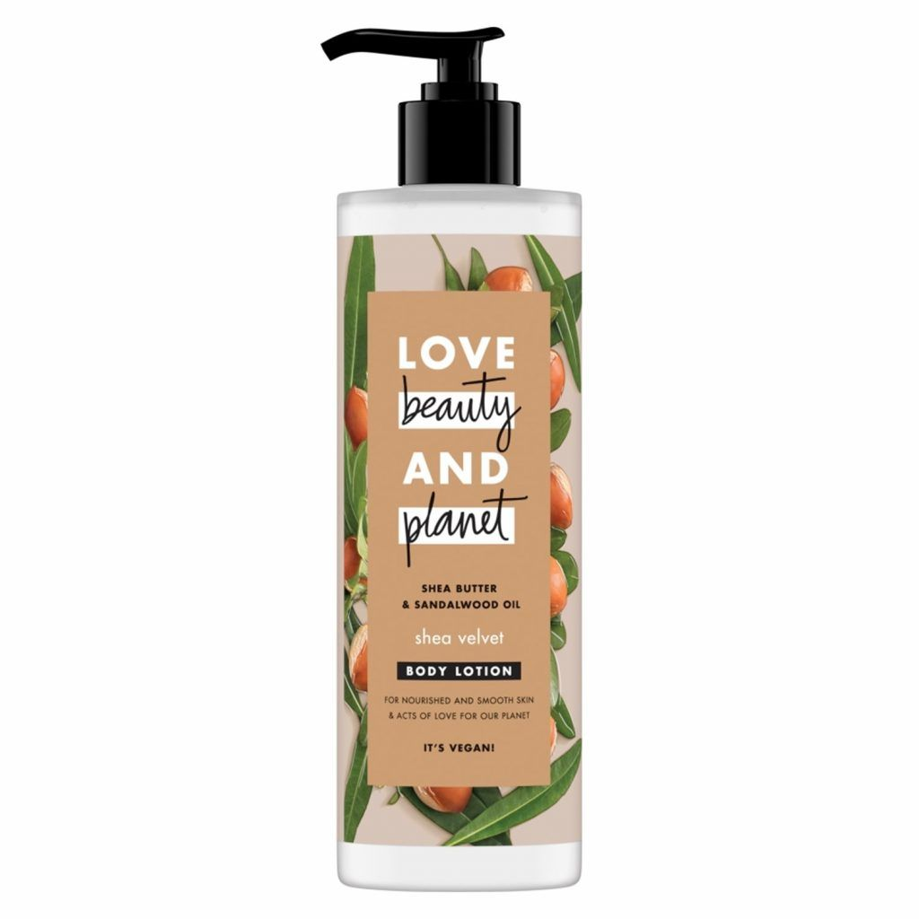 Love Beauty & Planet Shea Velvet Shea Butter & Sandalwood Oil Body Lotion 400ml (Pack of 3)