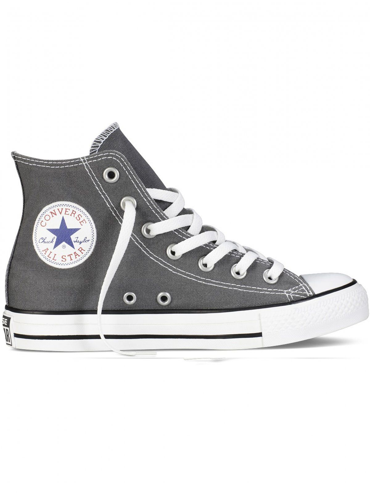 Converse All Star Unisex Chuck Taylor High Tops - Charcoal