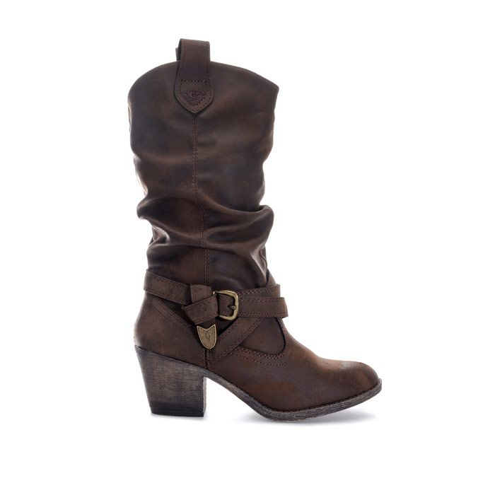 Women's Rocket Dog Sidestep Graham Boots in Chocolate