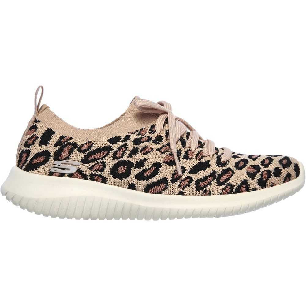 Skechers Womens Ultra Flex Safari Tour Slip On Shoes