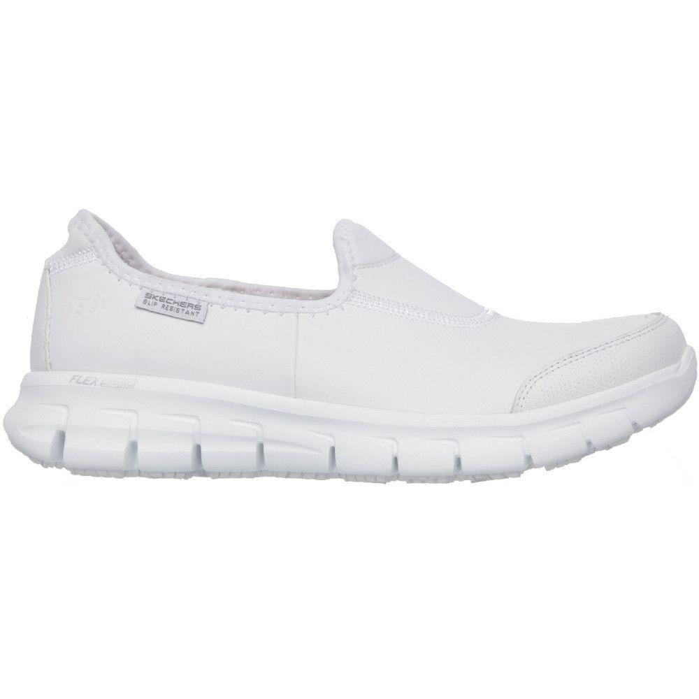 Skechers Womens/Ladies Sure Track Slip Resistant Slip on Work Safety Shoes