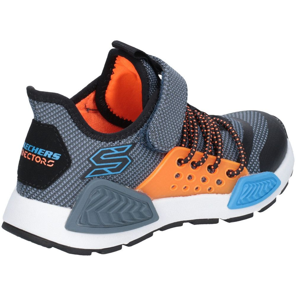 Skechers Boys Kinectors Thermovolt Lace Up Sports Trainers