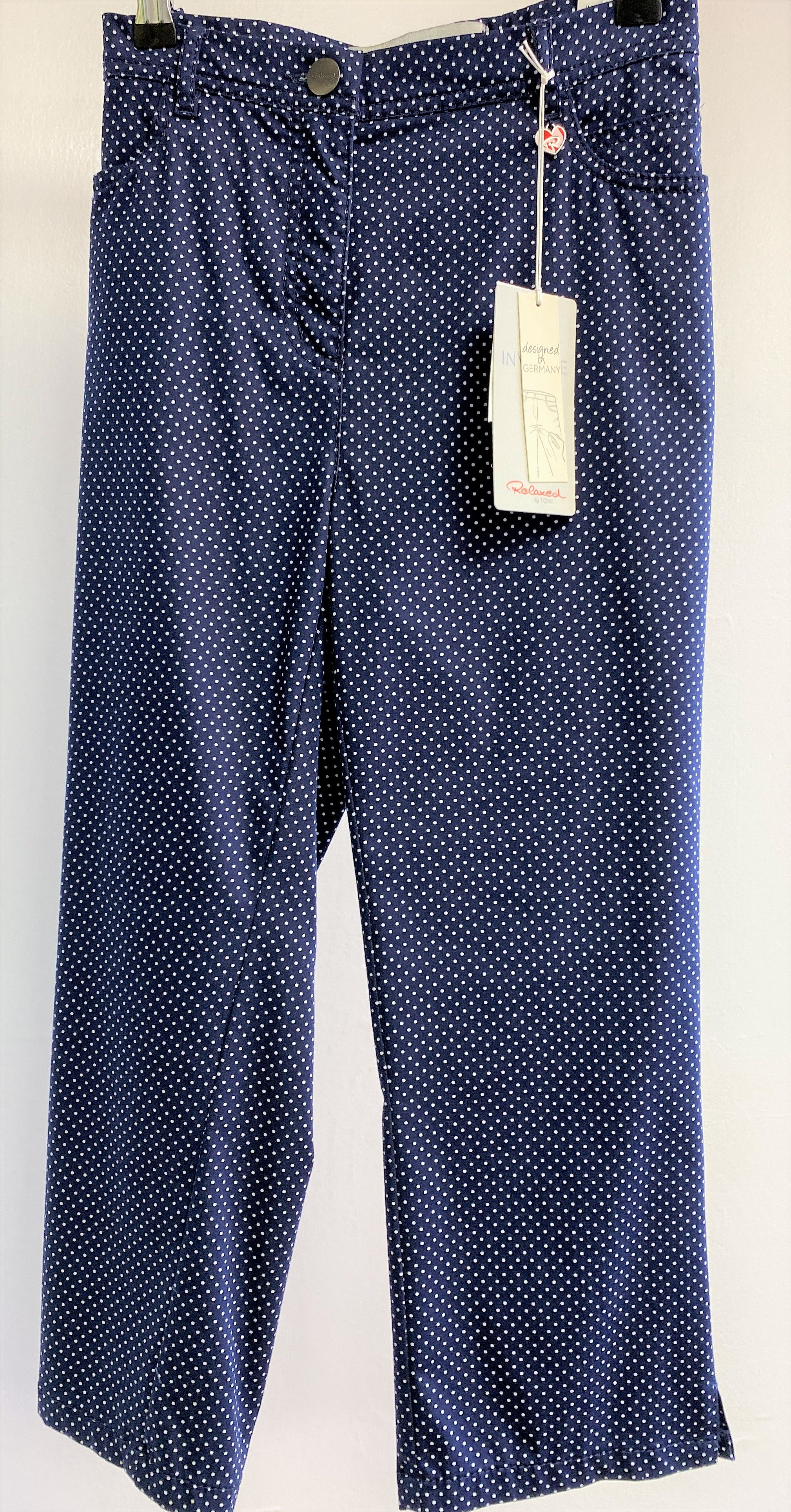 Spotty Cropped Trouser