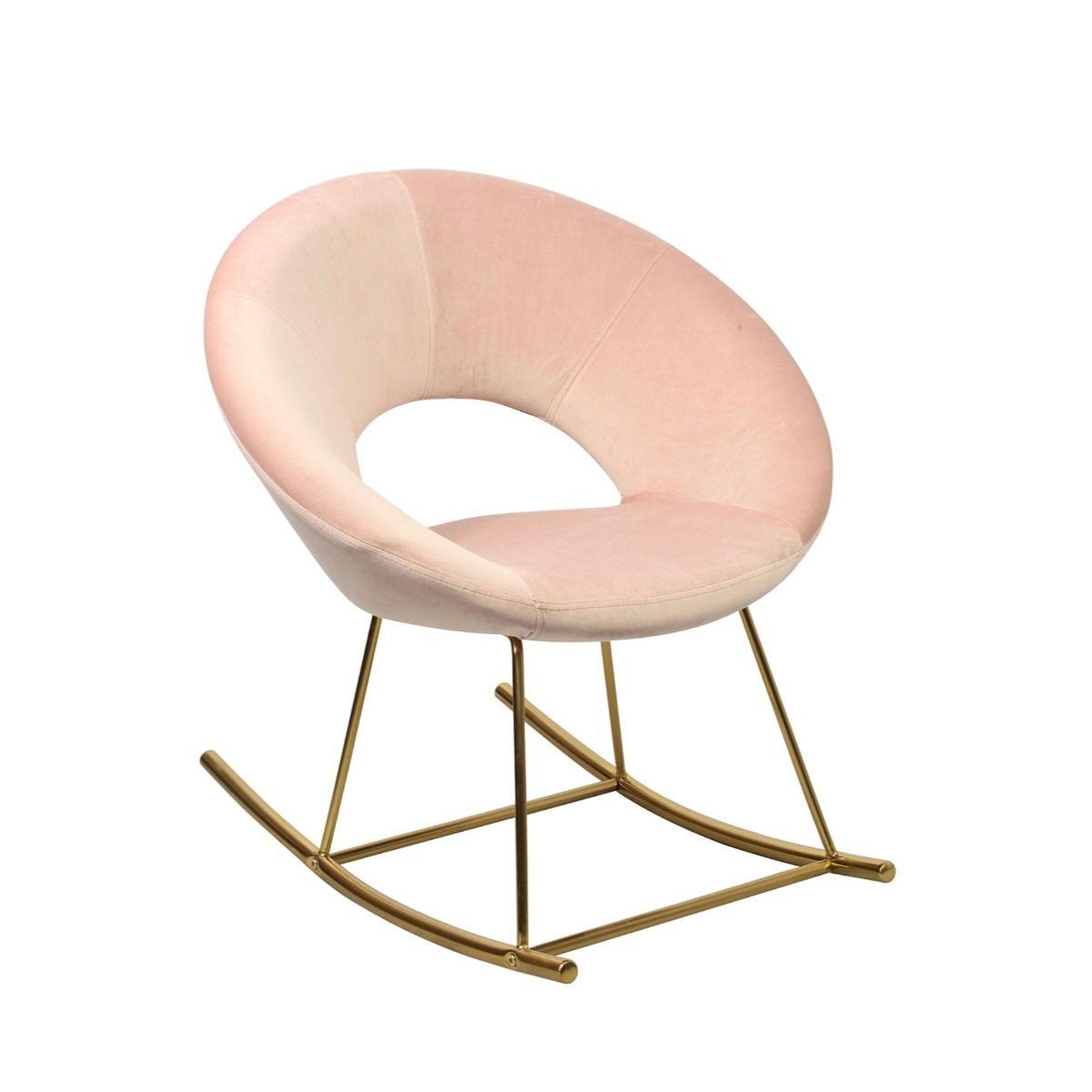 Stella Rocking Chair Pink