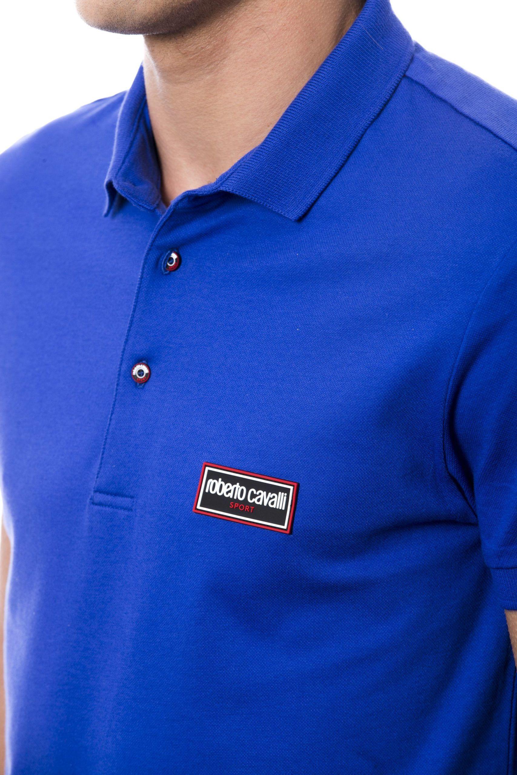 Roberto Cavalli Sport Blue Royal T-shirt