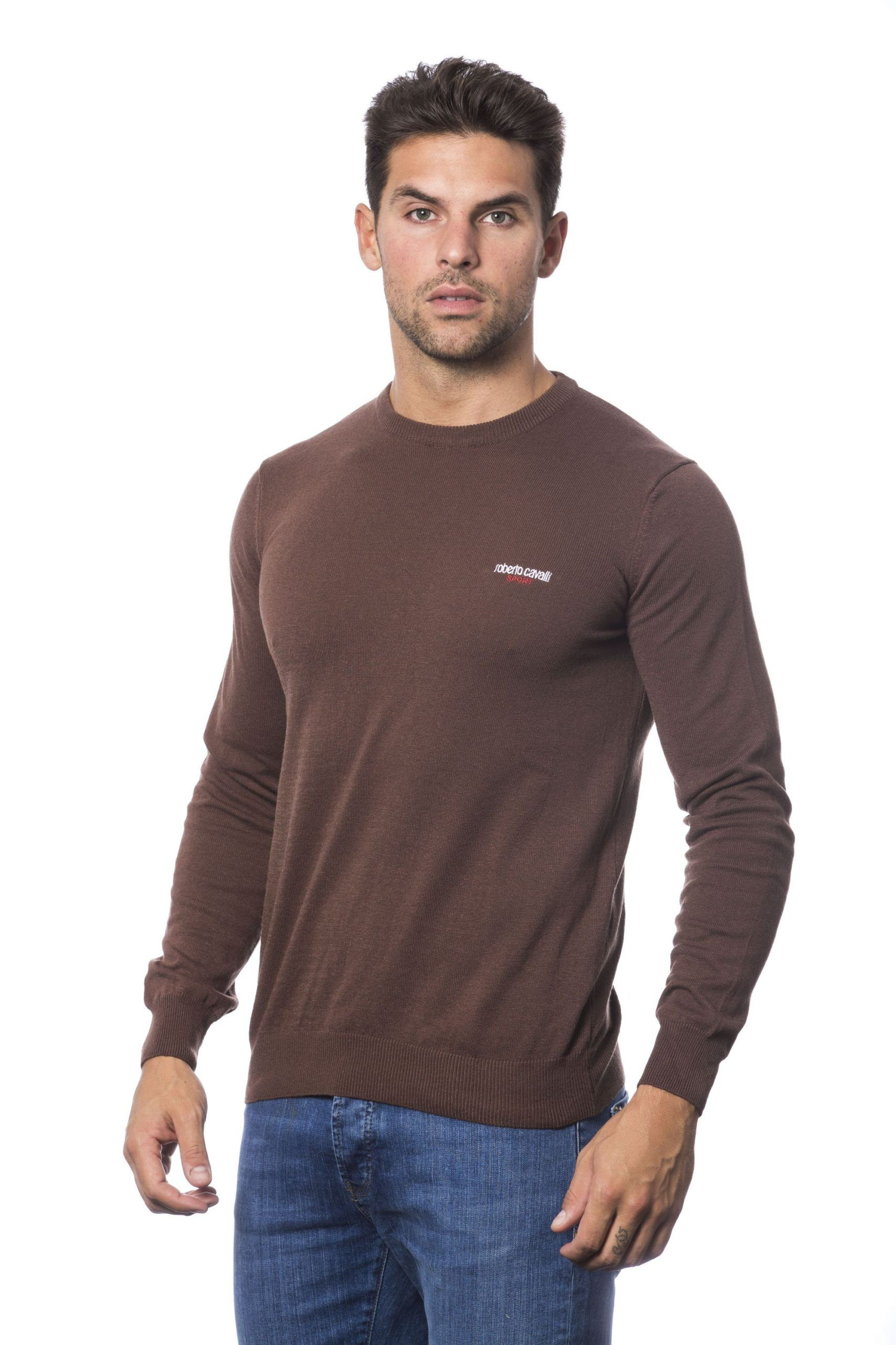 Roberto Cavalli Sport Marrone Sweater