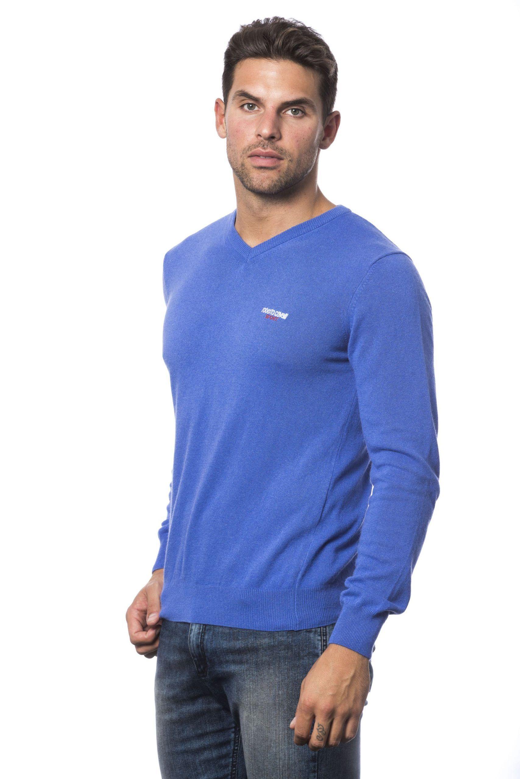 Roberto Cavalli Sport Bluette Sweater