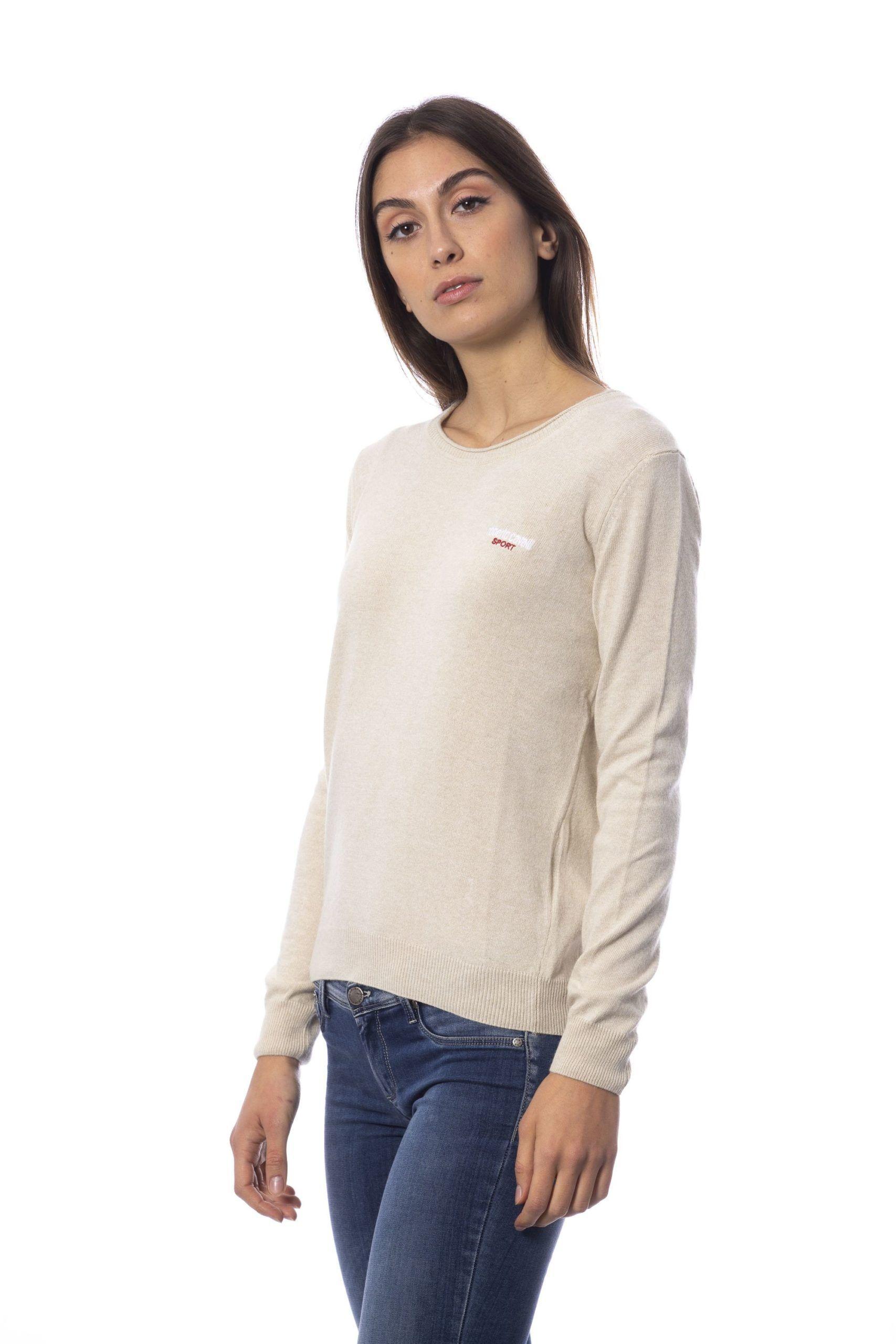 Roberto Cavalli Sport Beige Sweater