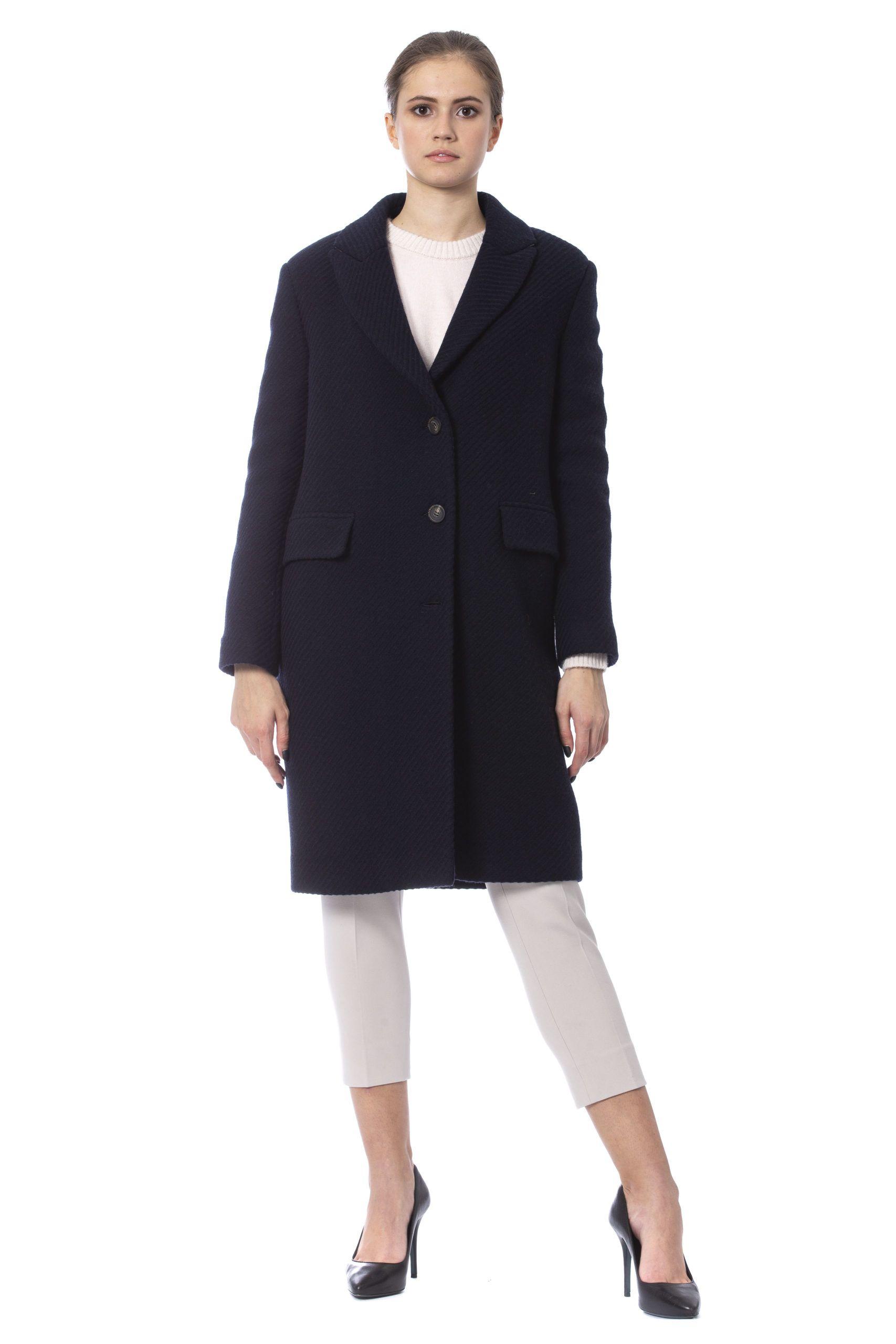 Peserico Blu Jackets & Coat