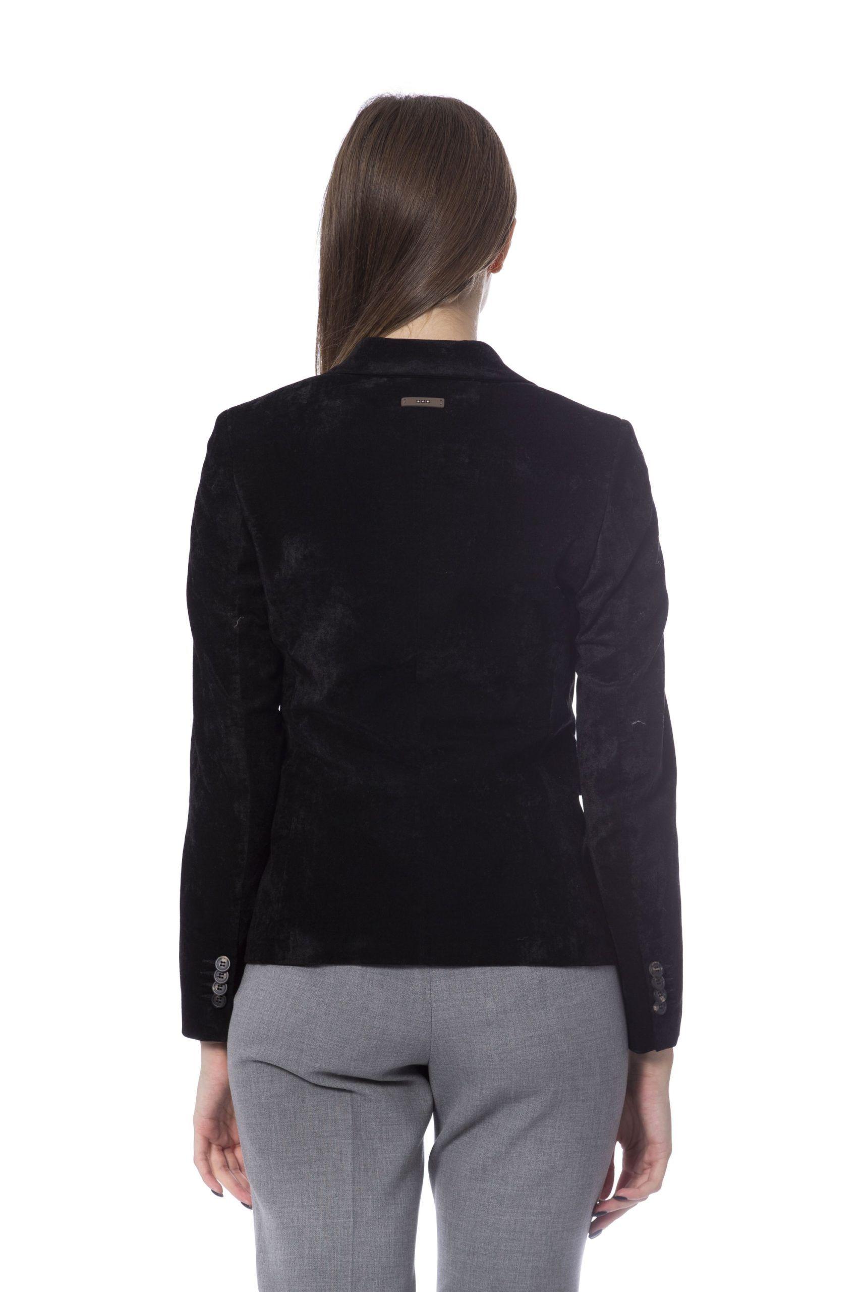 Peserico Nero Jackets & Coat