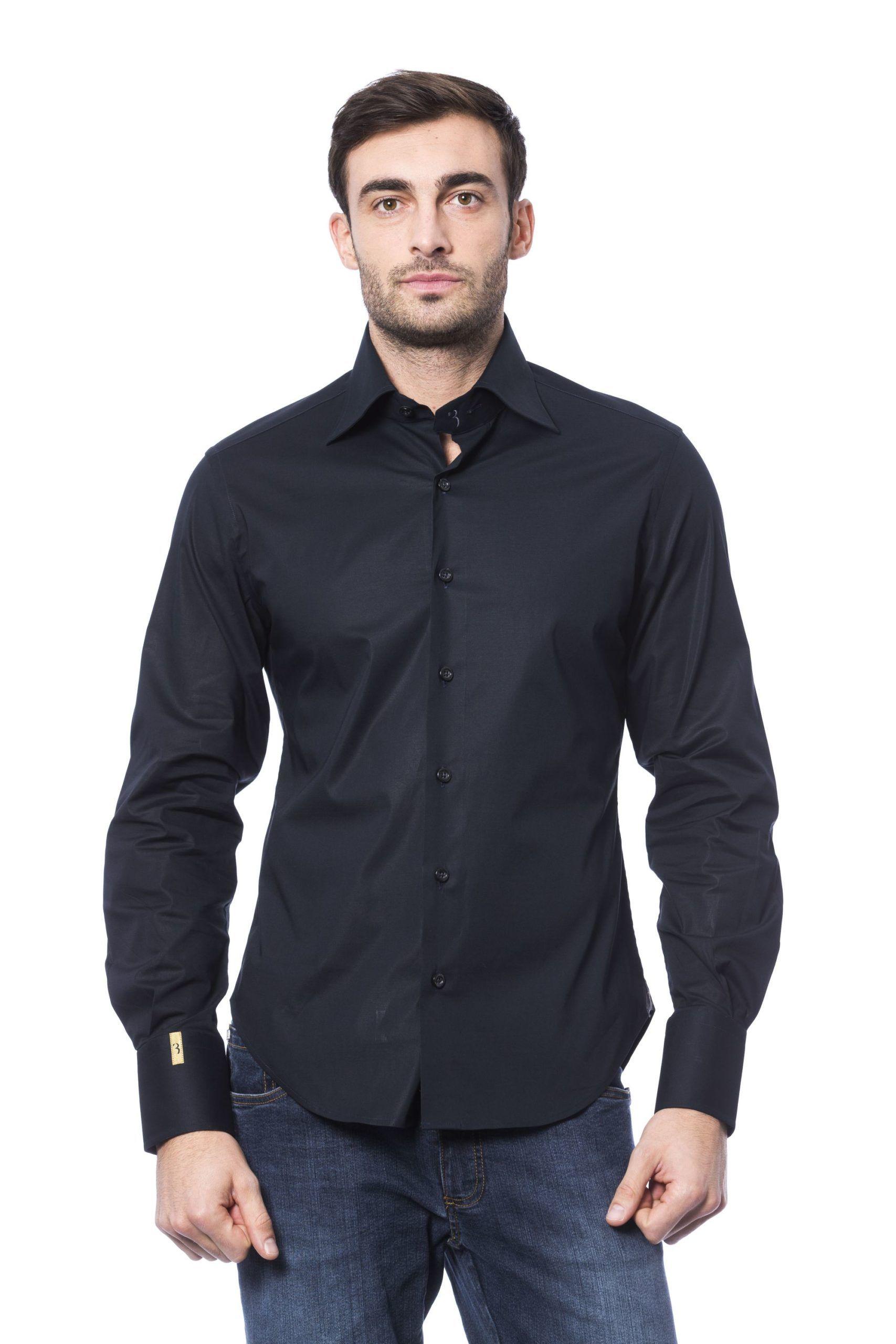 Billionaire Italian Couture Scuro Dark Shirt