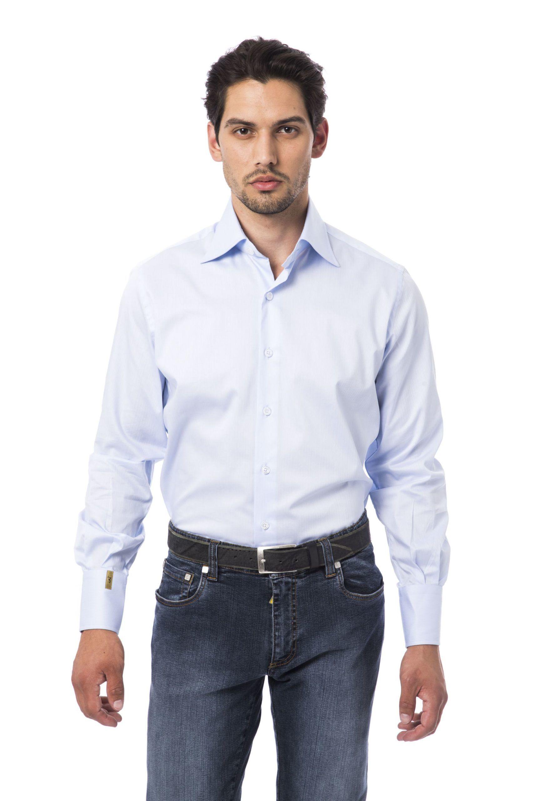 Billionaire Italian Couture Azzurro Sky Shirt