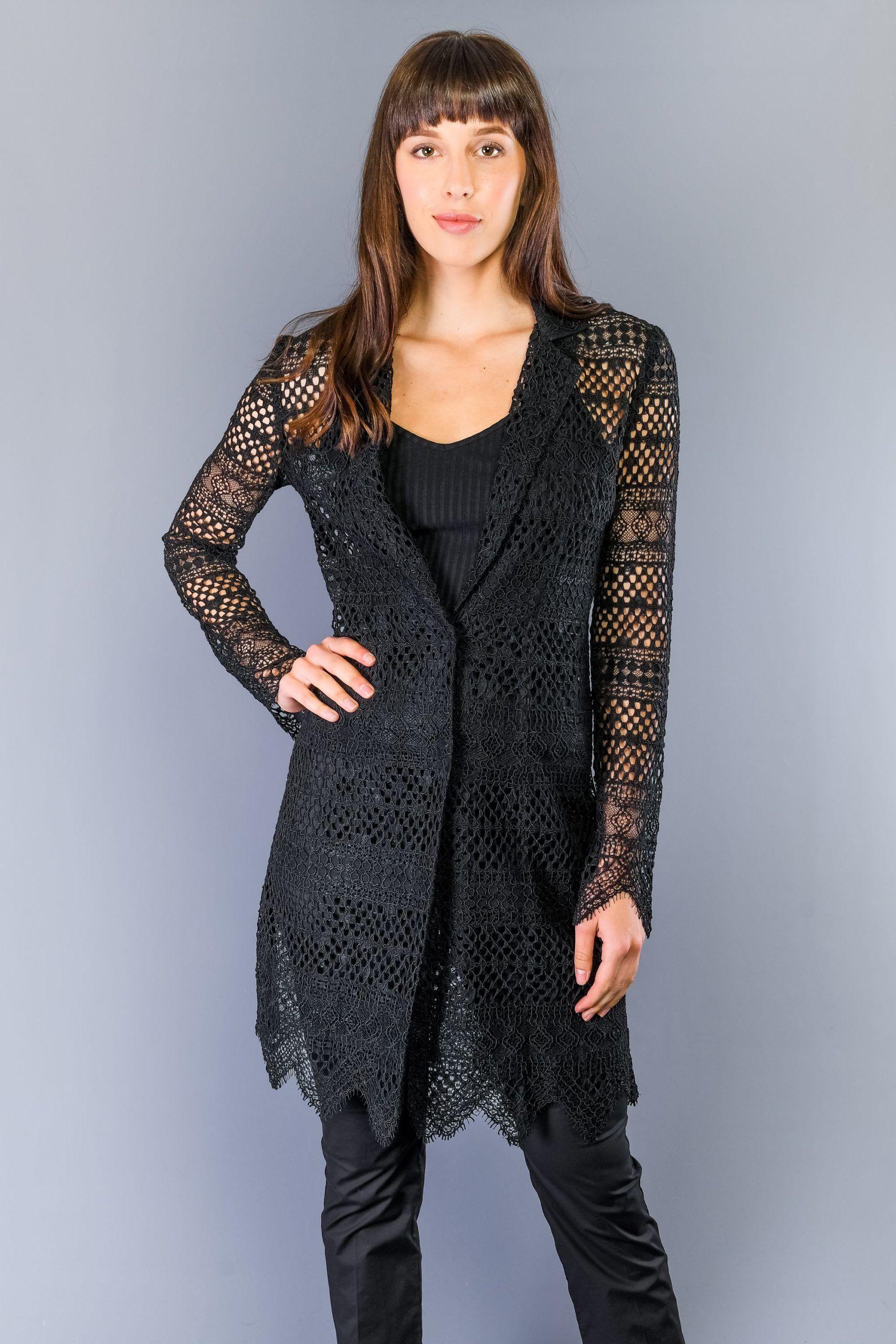 Twinset Nero Black Jackets & Coat