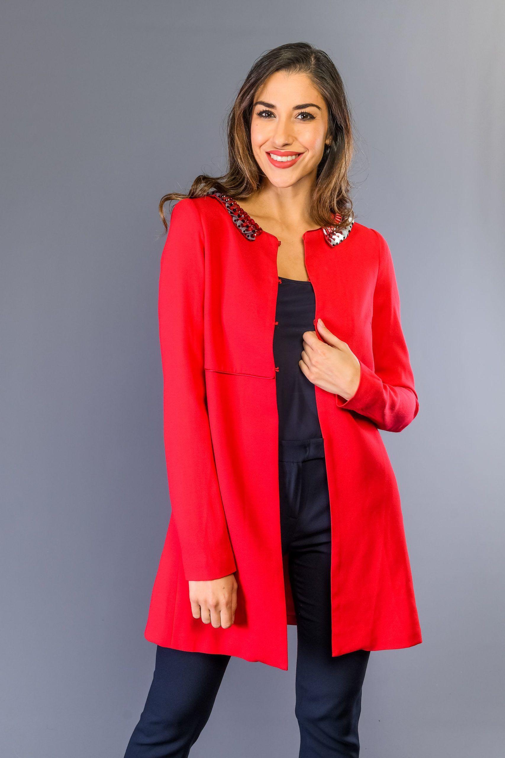 Twinset Strawberry Jackets & Coat