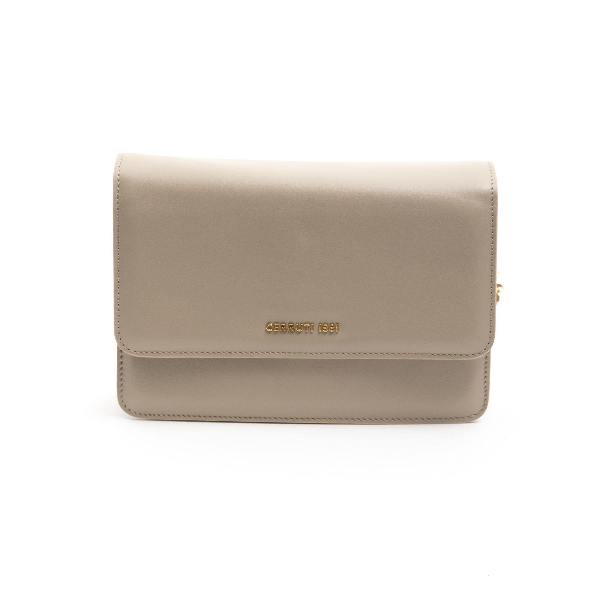 Cerruti 1881 Beige Clutch Bag