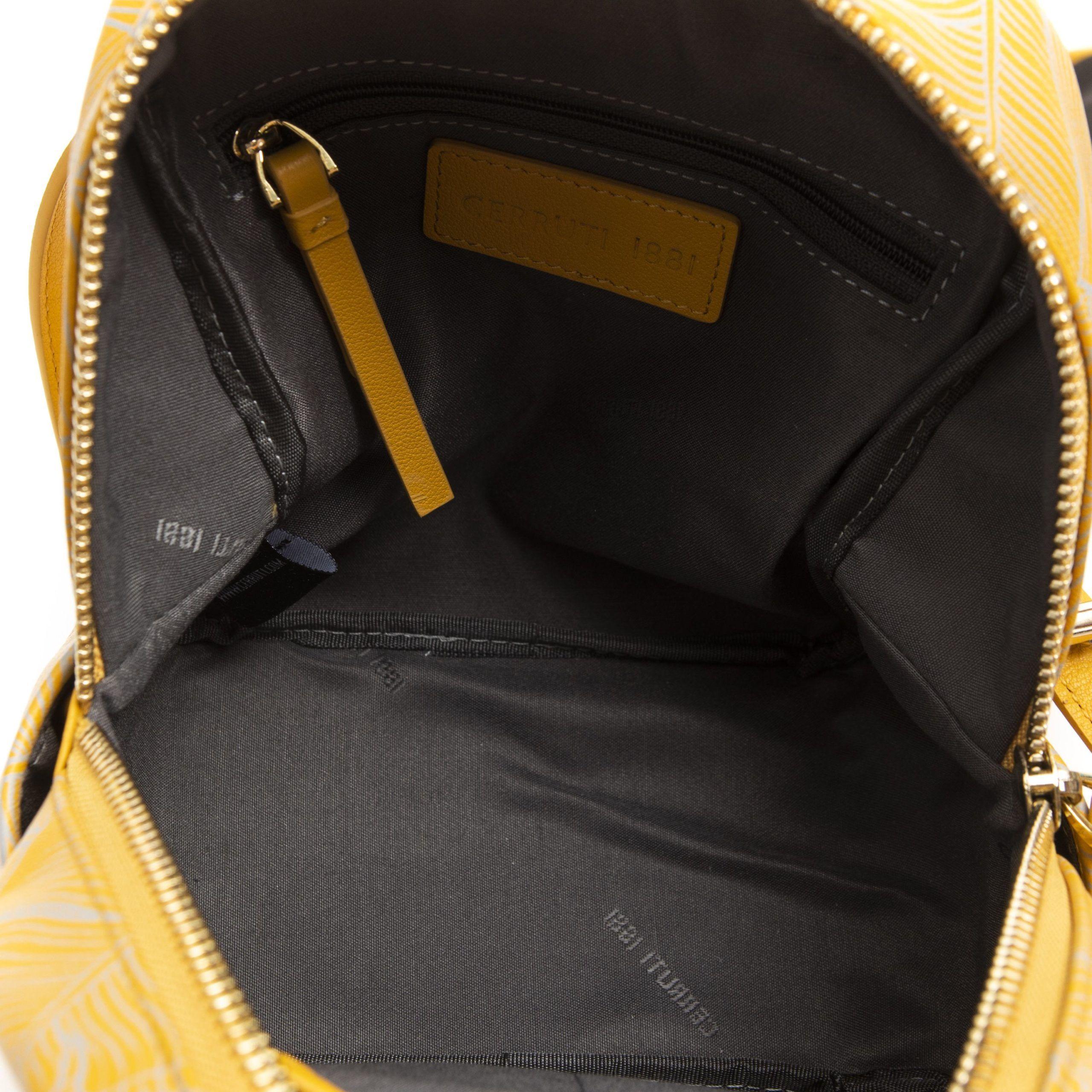 Cerruti 1881 Giallo Yellow Backpack