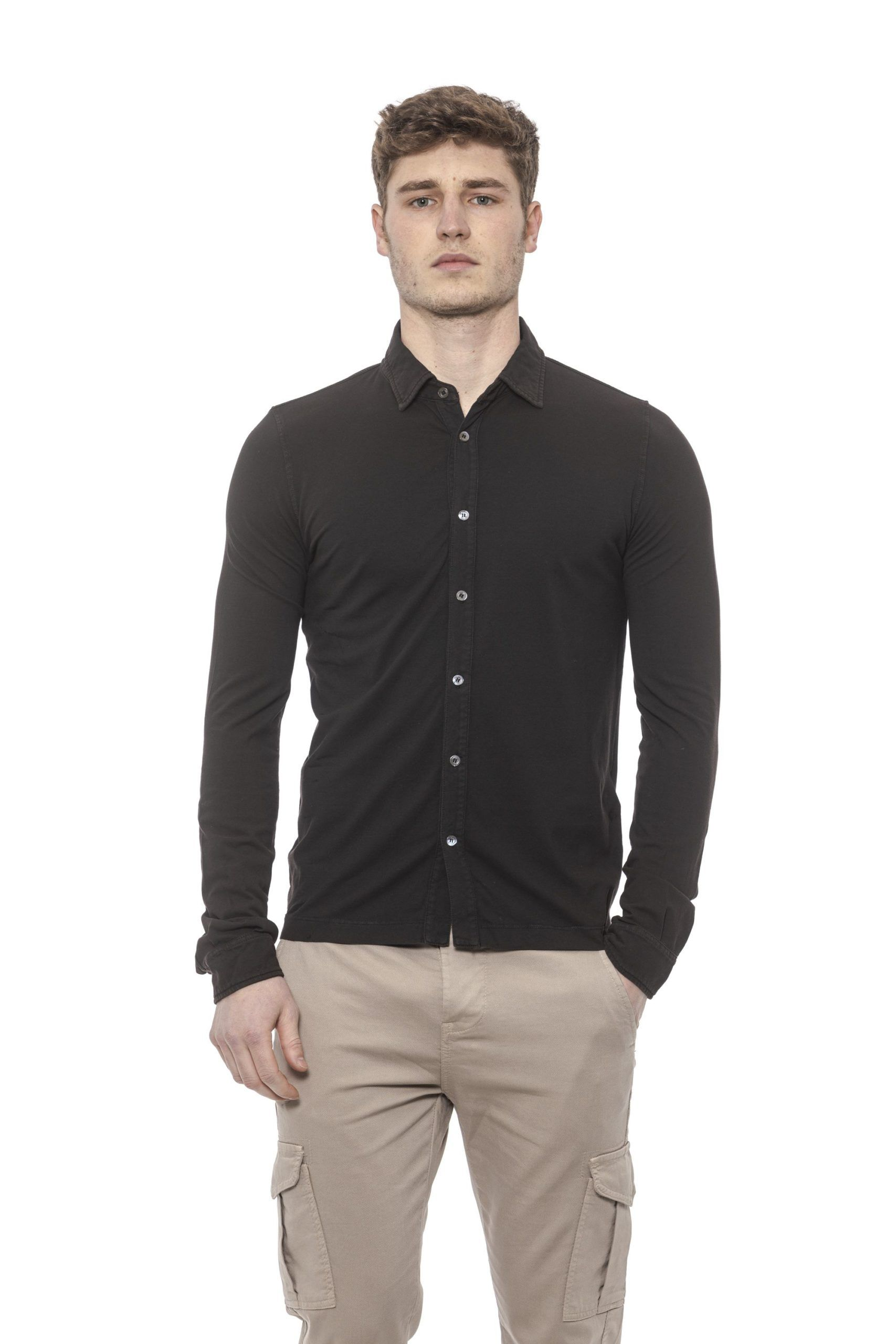 Alpha Studio Brown Shirt