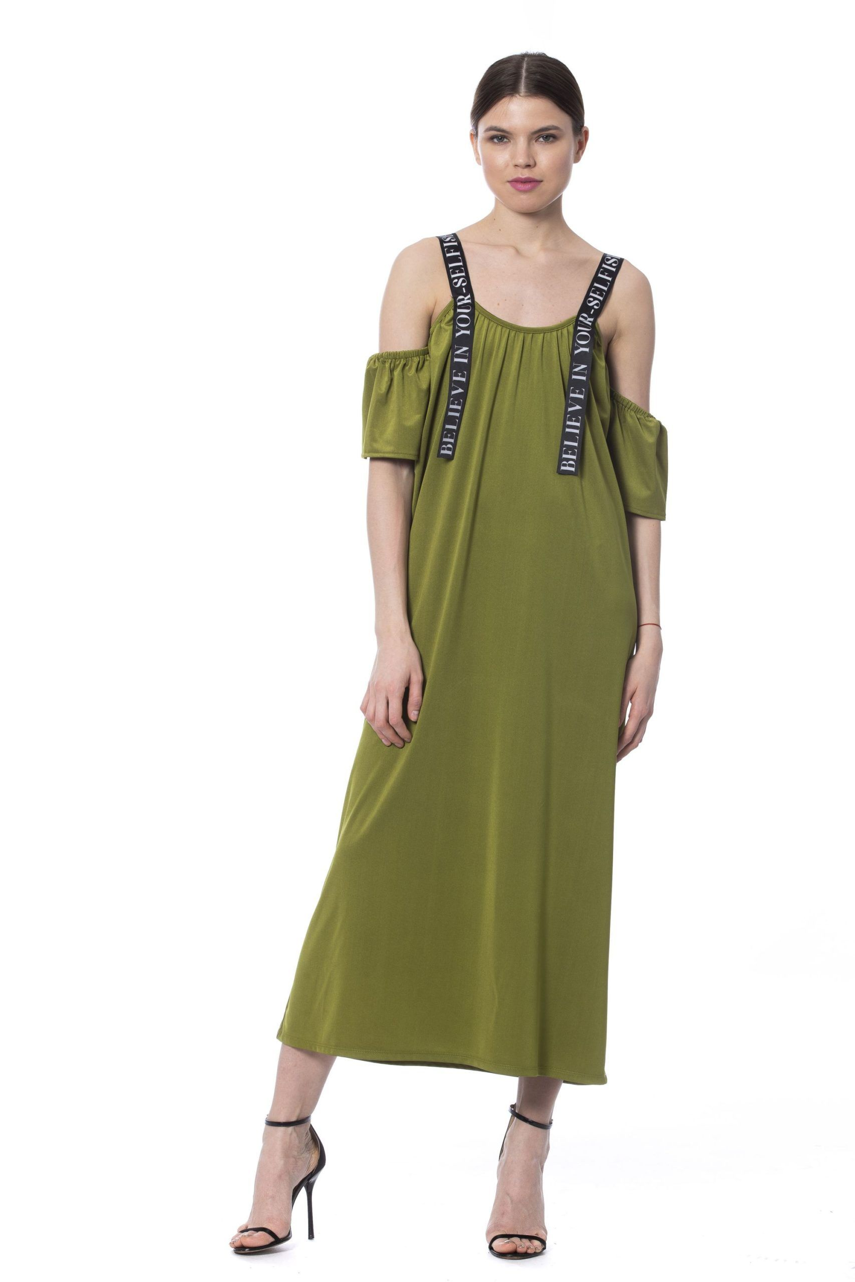 Silvian Heach Army Long Sleeveless Dress