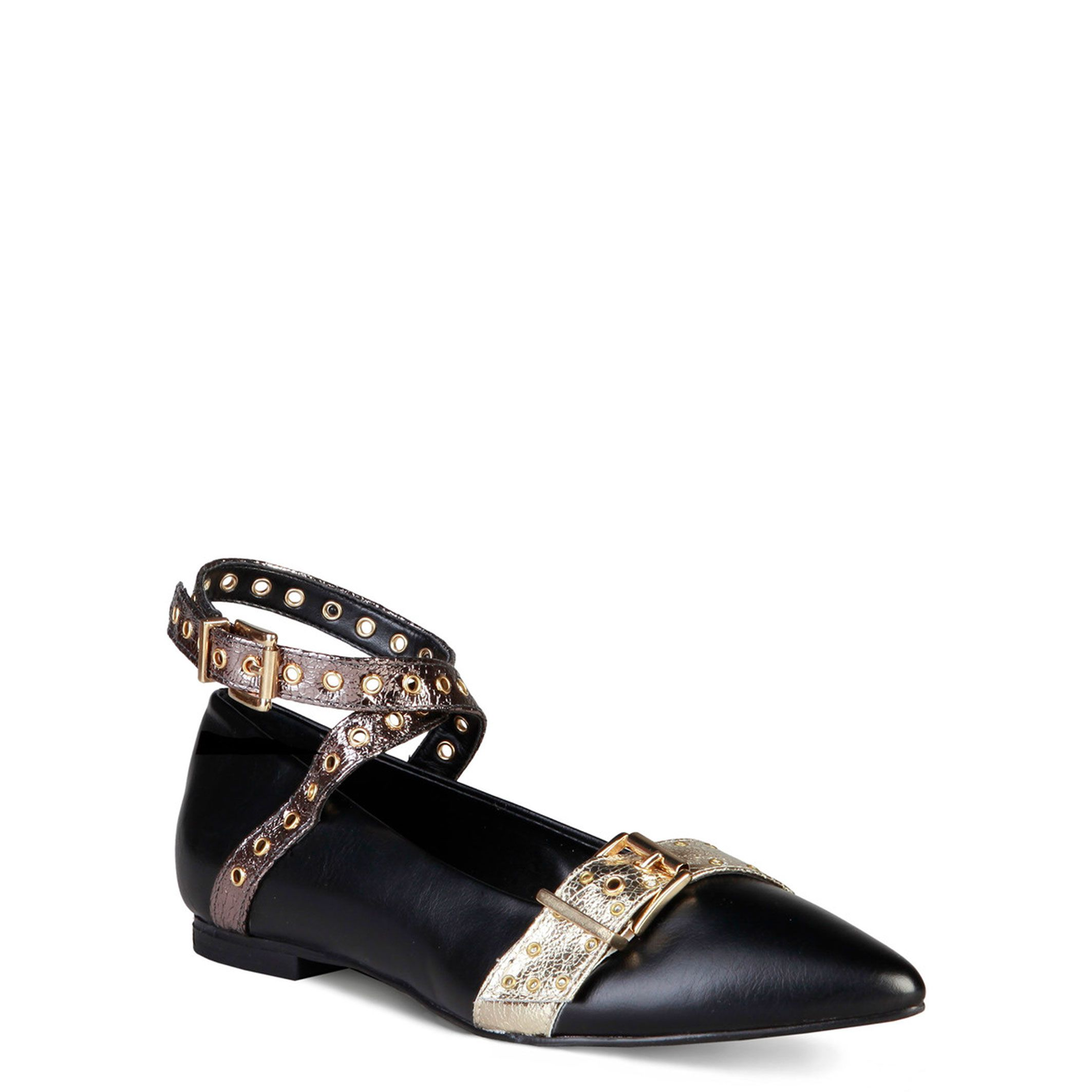 Made In Italia Womens Ballet Flats