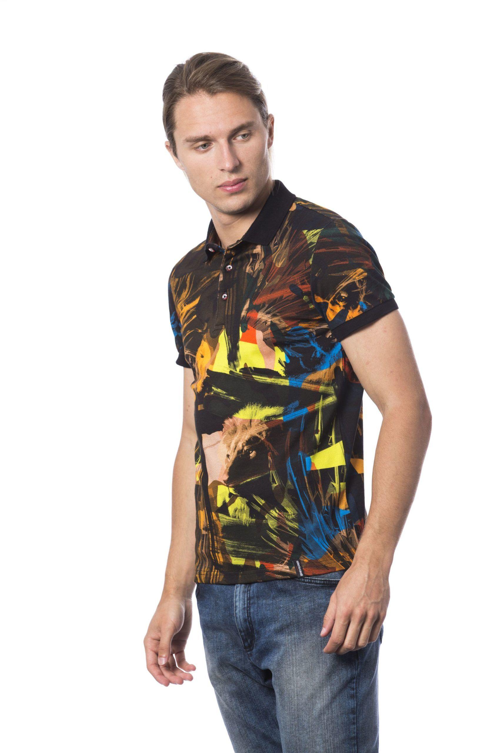 Roberto Cavalli Sport Multicolor T-shirt