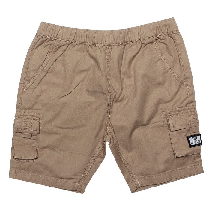 Boy's Weekend Offender Infant Mascia Cargo Short in Stone