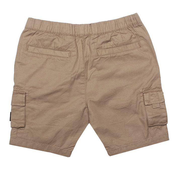 Boy's Weekend Offender Junior Mascia Cargo Short in Stone