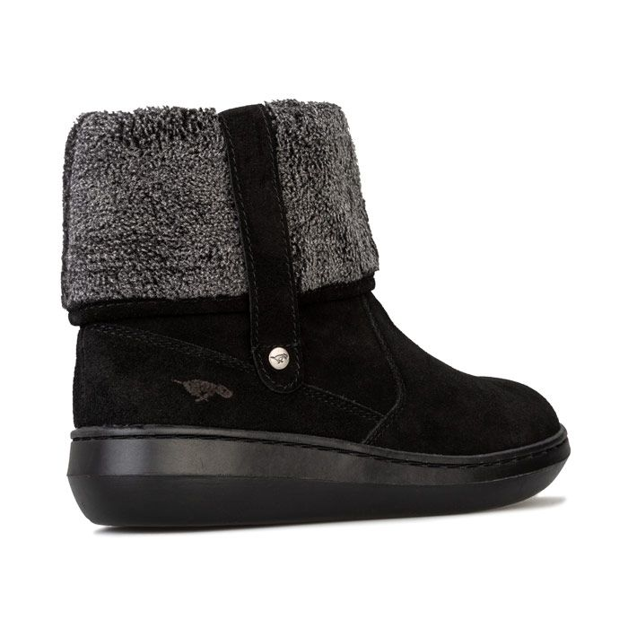 Women's Rocket Dog Sugarmint Suede Boots - UK 3 - Blackin Black