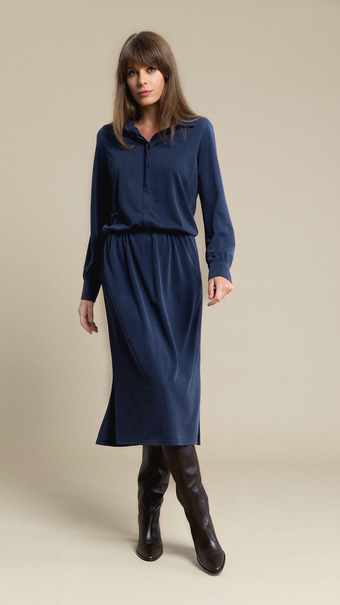 Dress Linda Navy