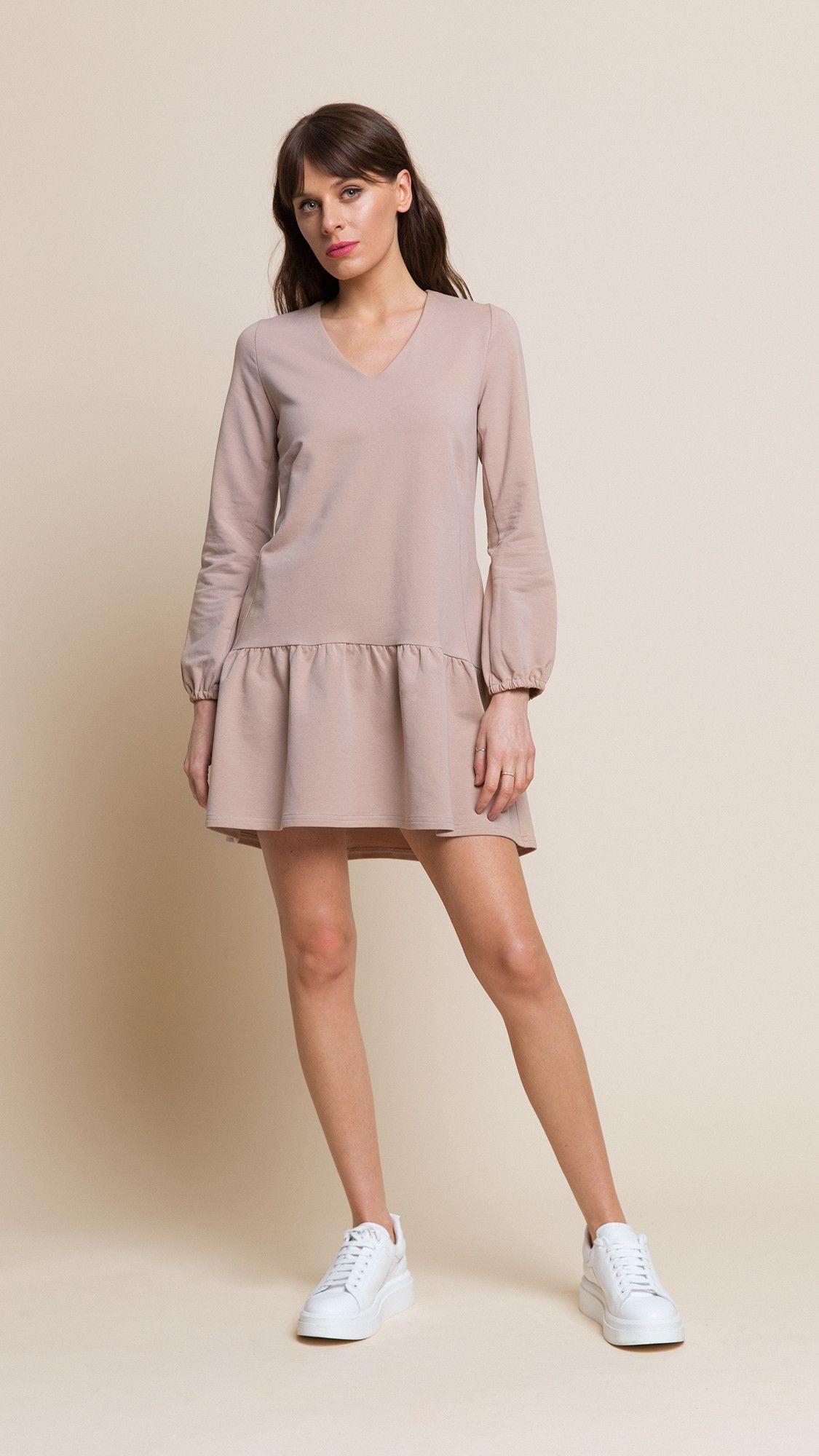 Dress Rose Beige