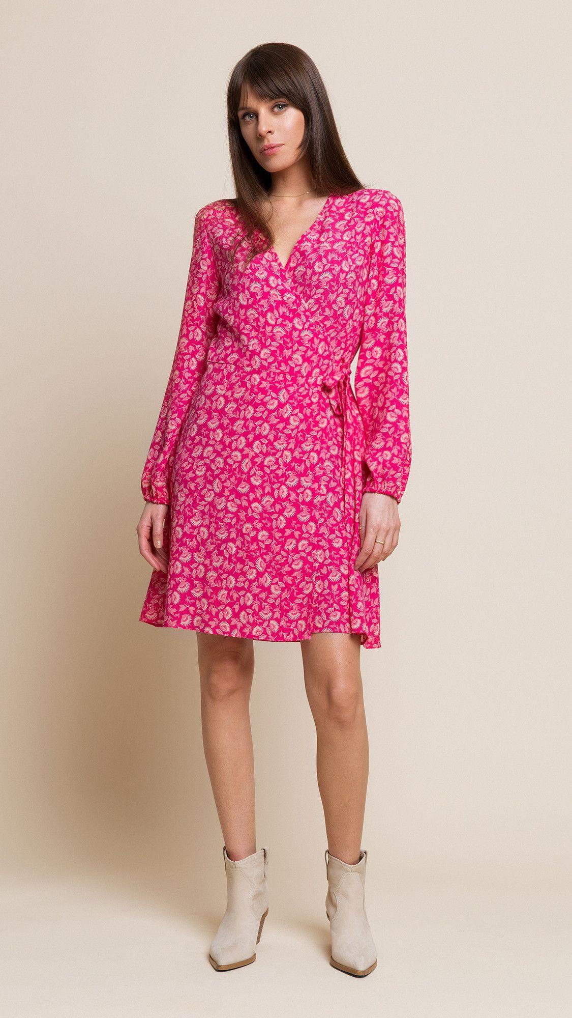 Dress Wendy Floral Amaranthine