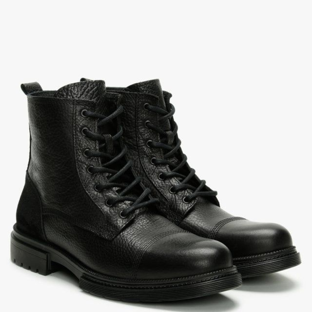 Daniel Sumble Tumbled Leather Ankle Boots