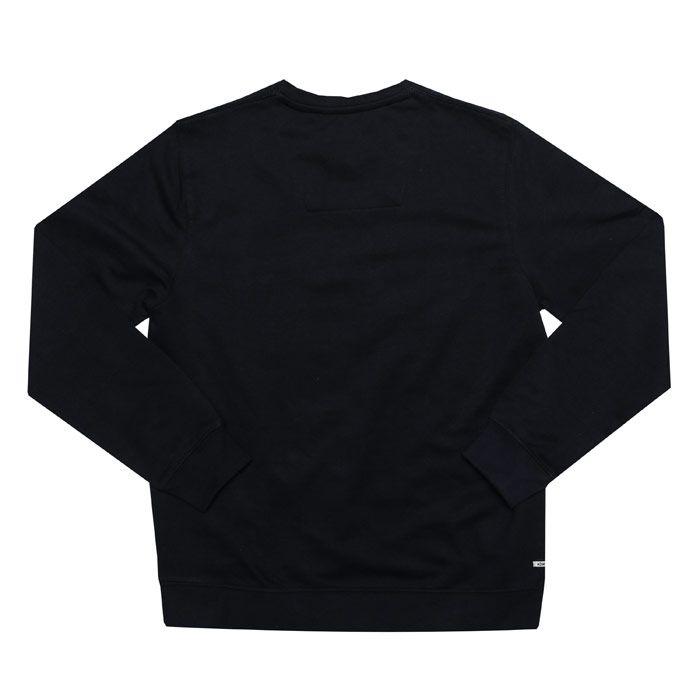 Boy's Weekend Offender Infant Penitentiary Crew Sweatshirt in Navy