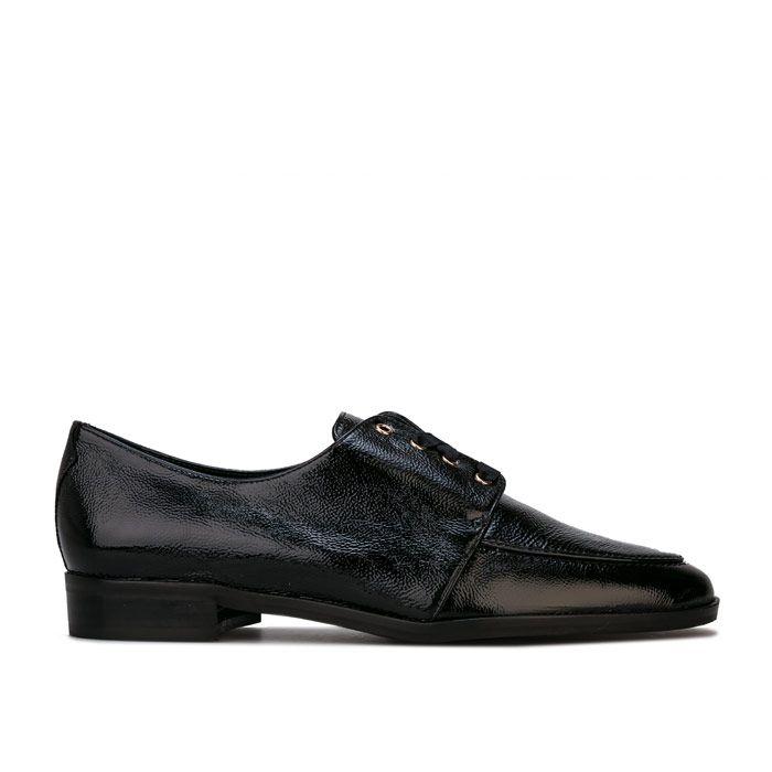 Women's Karen Millen Lola Jayne Patent Leather Shoes in Black