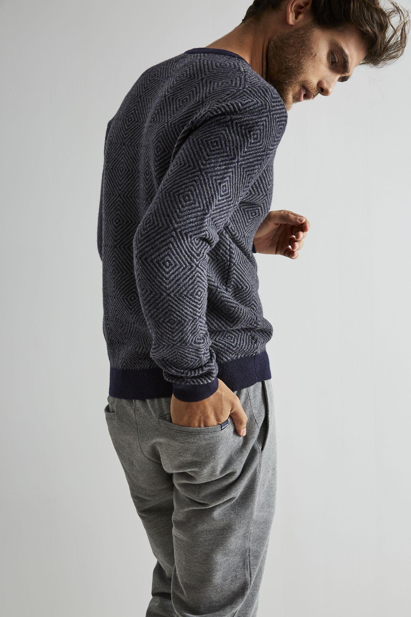 Men s Patterned Knitwear