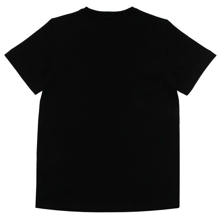 Boy's Emporio Armani EA7 Infant Logo T-Shirt in Black