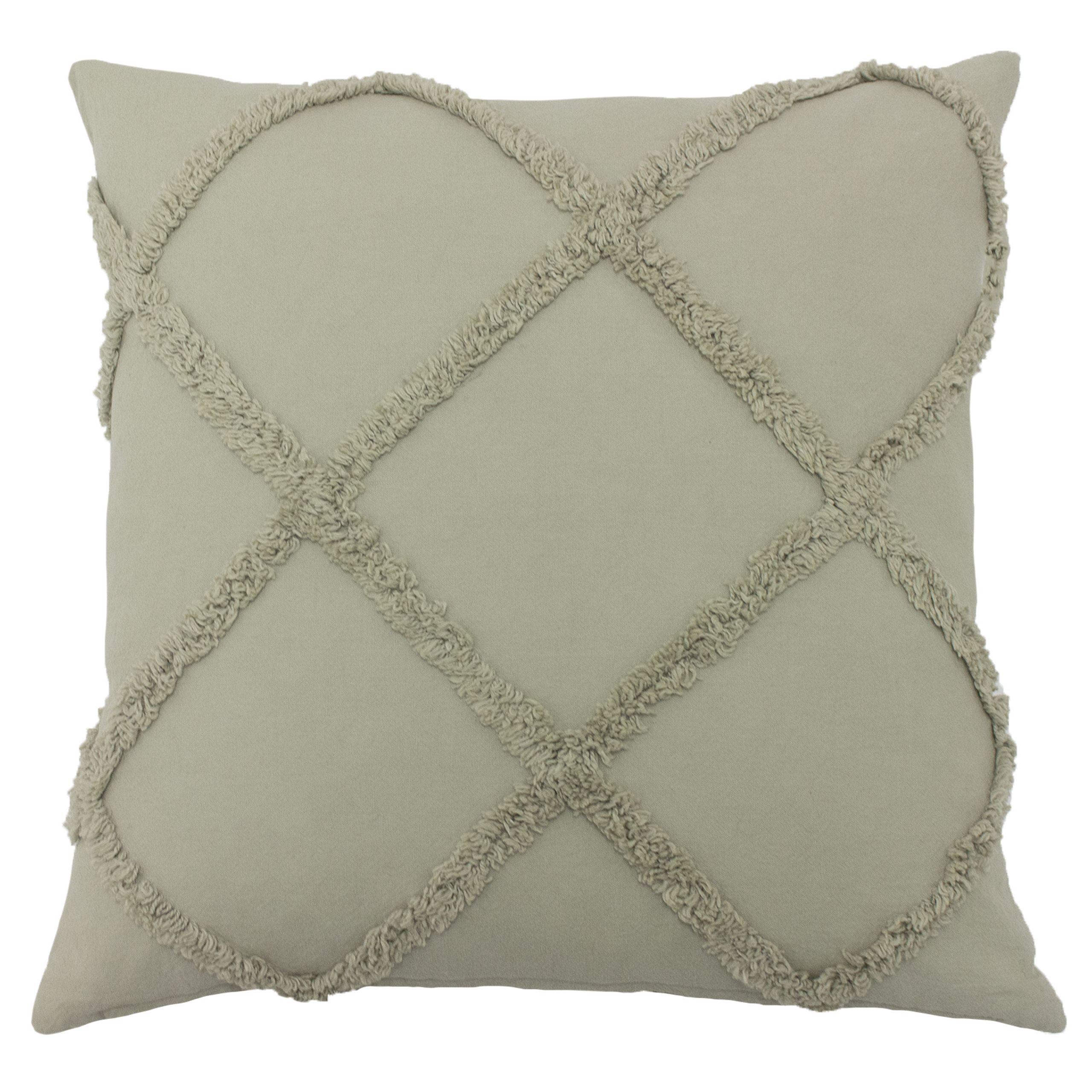 Tago 45X45 Poly Cushion Grey
