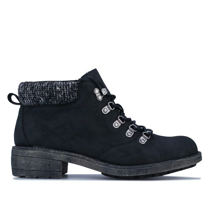 Women's Rocket Dog Train Pablo Ankle Boots in Black