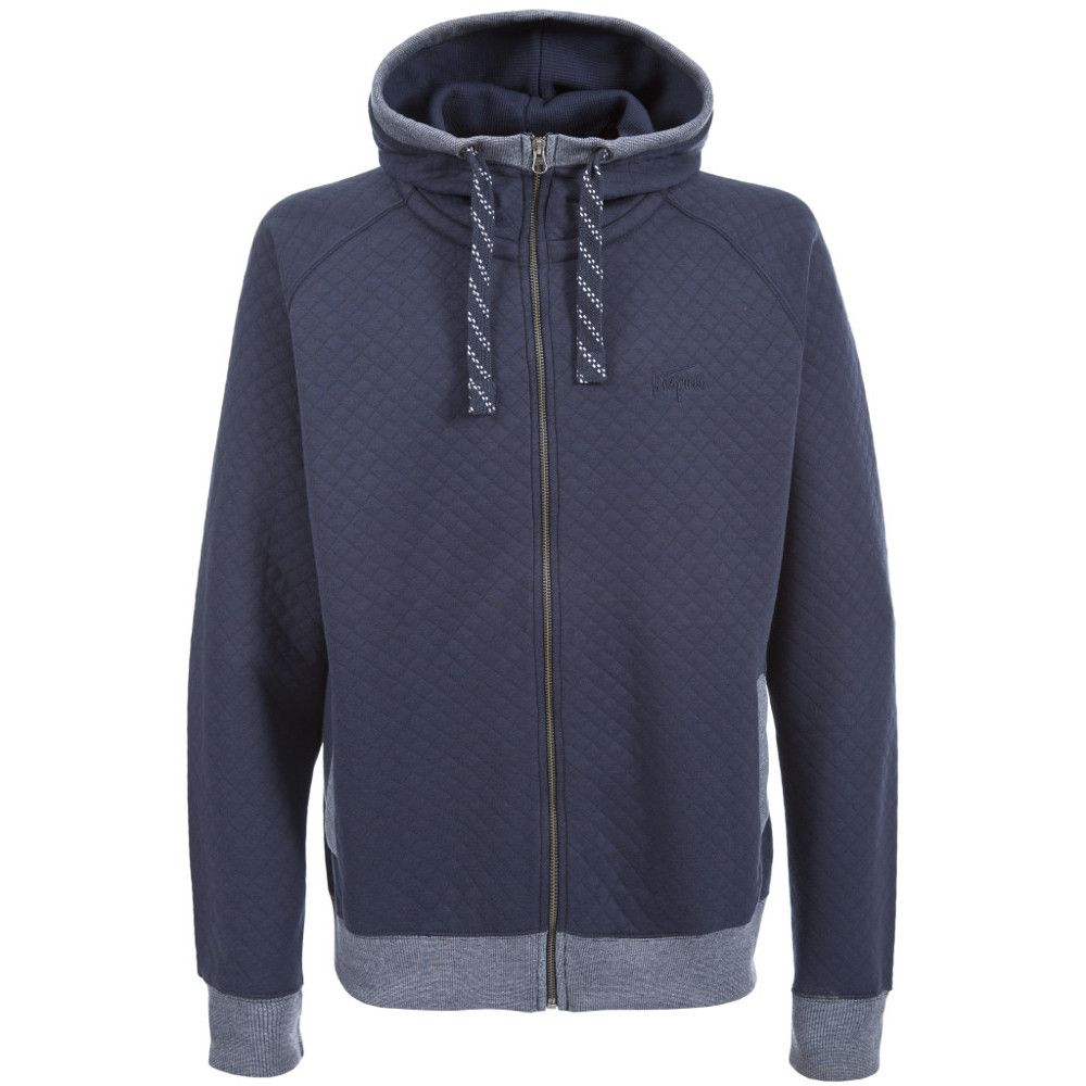 Trespass Mens Cirrus Warm Quilted Full Zip Hooded Top