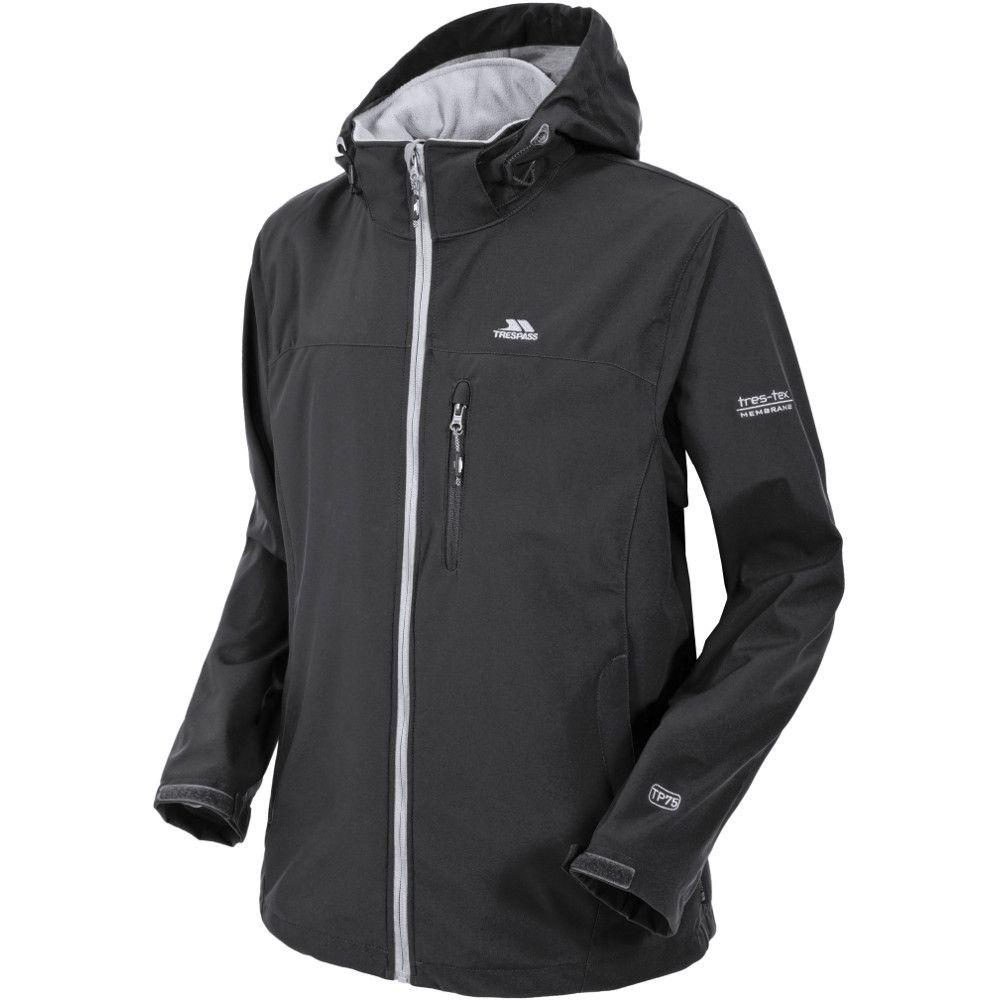 Trespass Mens Stanford Waterproof Breathable Membrane Softshell Jacket