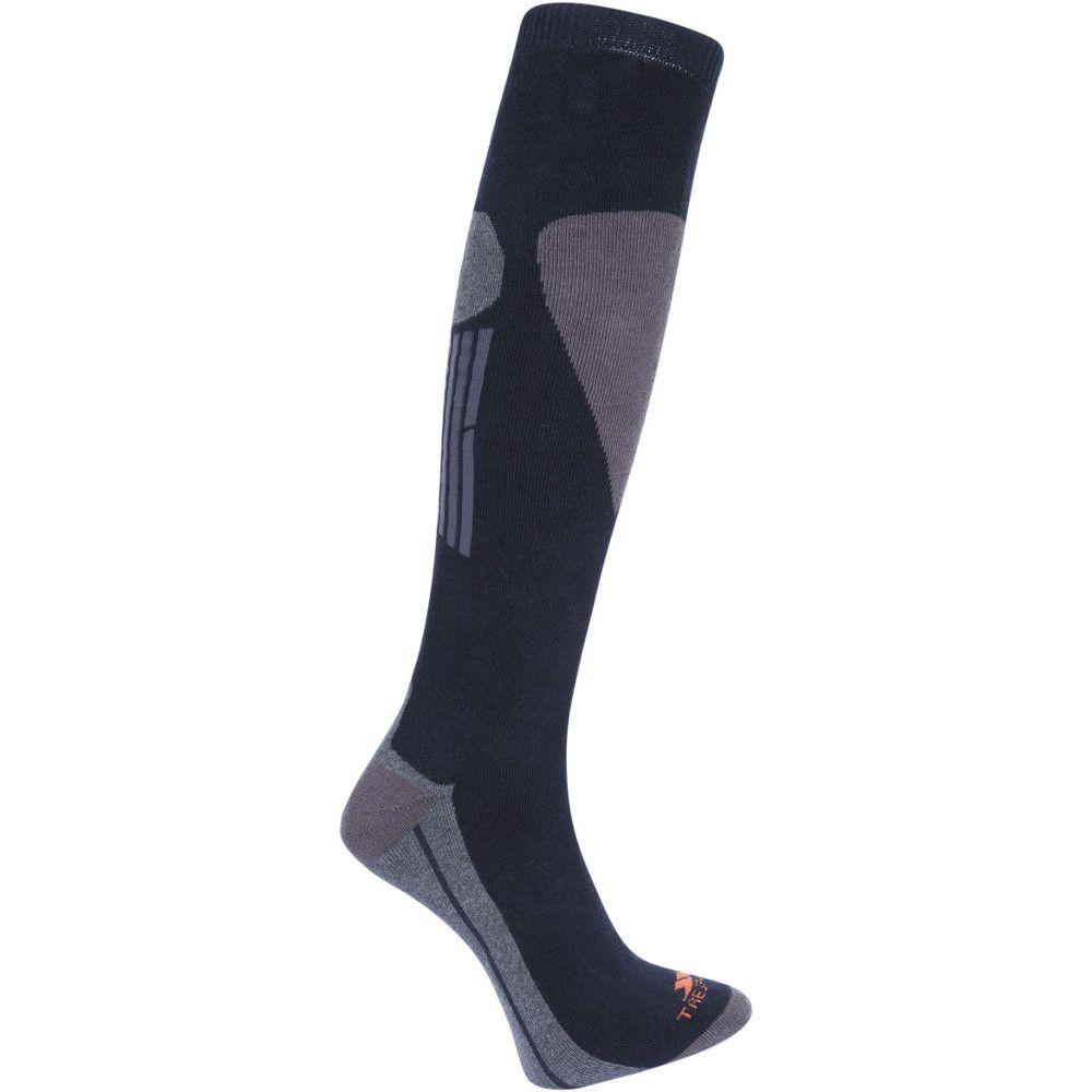 Trespass Mens Hack Pack Warm Cotton Blend Ski Socks One Pair Pack