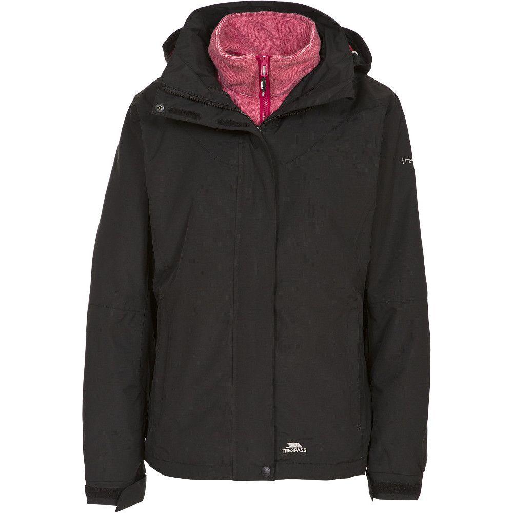 Trespass Womens/Ladies Madalin Waterproof Breathable 3 in 1 Jacket