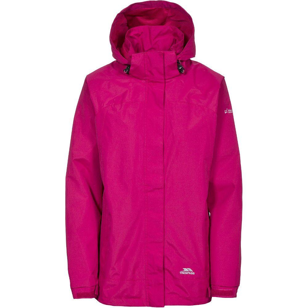 Trespass Womens/Ladies Nasu II Waterproof Mesh Lined Shell Jacket
