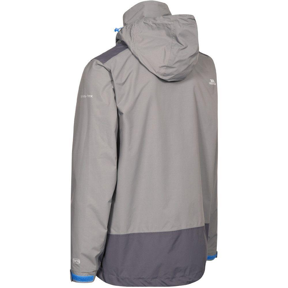 Trespass Mens Judah Waterproof Breathable Windproof Rain Shell Jacket