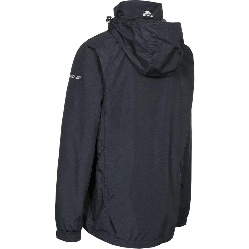 Trespass Mens Nabro II Waterproof Windproof Rain Shell Jacket