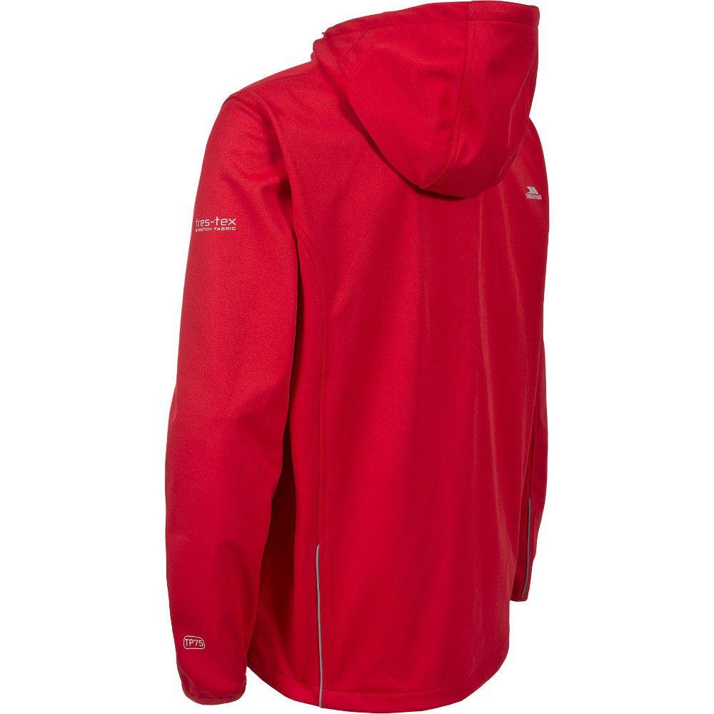 Trespass Mens Zeek Knitted Waterproof Breathable Softshell Jacket