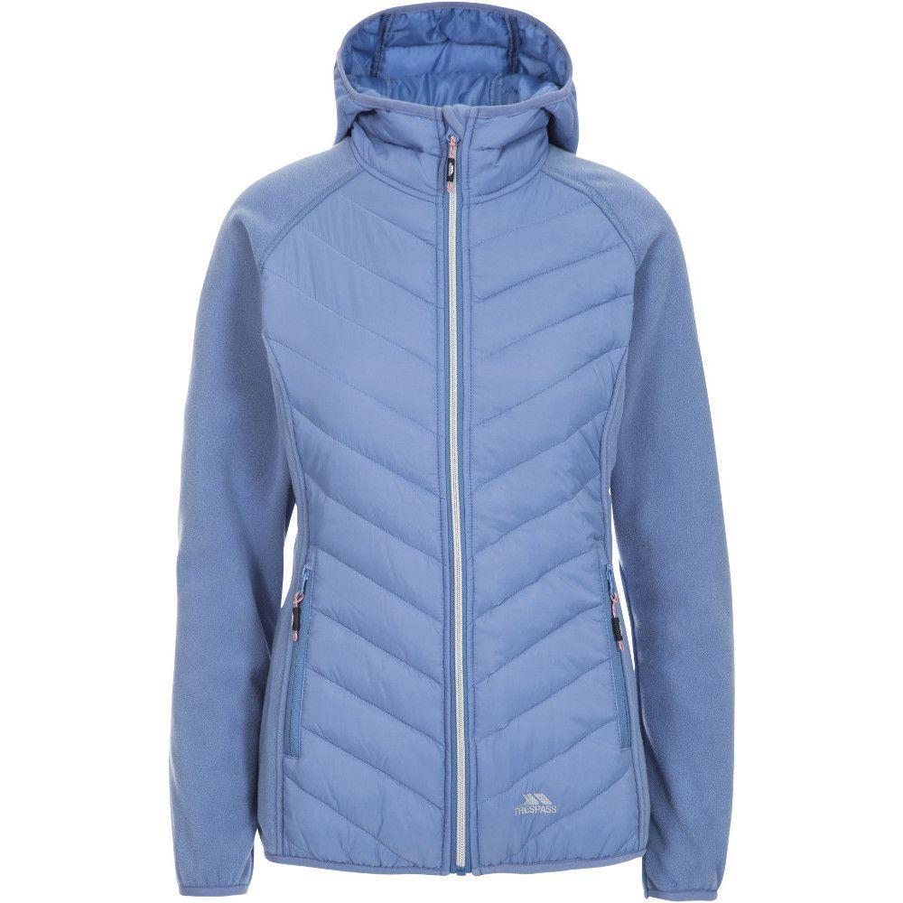 Trespass Womens/Ladies Boardwalk Polyester Hooded Fleece Jacket