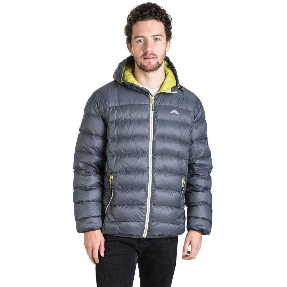 Trespass Mens Whitman Polyamide Ultra Lightweight Packable Down Jacket