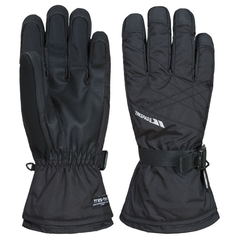 Trespass Mens Reunited II Waterproof Breathable Performance Gloves
